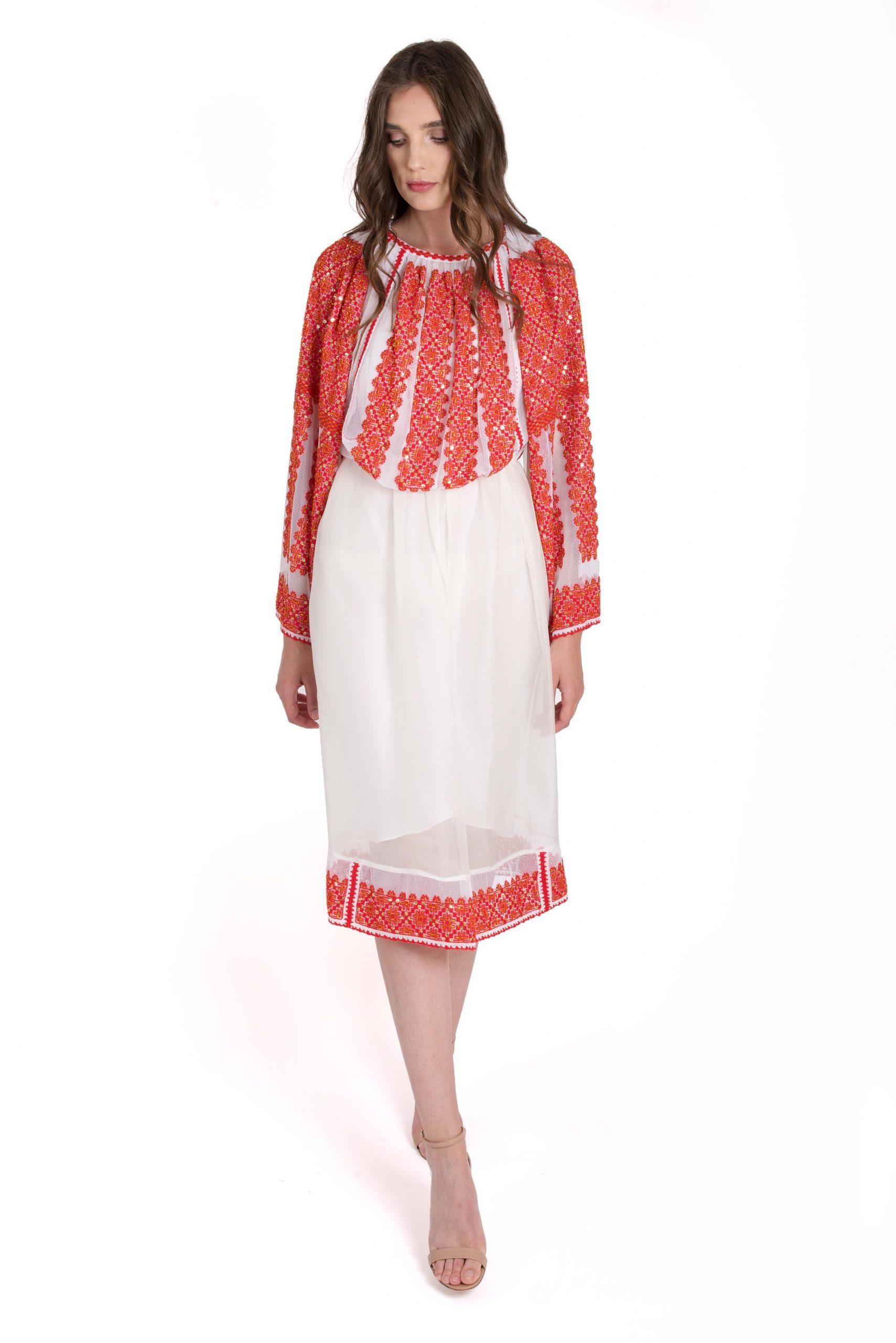 Romanian traditional blouse - Izabela Mandoiu