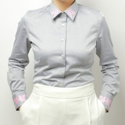 gray dove shirt business look