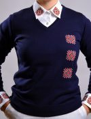 navy sweater knitwear