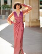 DABEL SILK EVENING DRESS