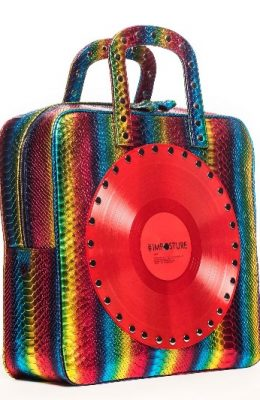 calfskin leather handbag