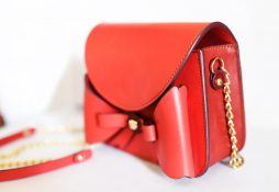 red-bow-leather-shoulder-bag